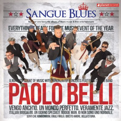 paolo belli cover sangue blues ultimo disco