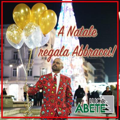 Copertina Singolo - Luca Abete - A Natale regala abbracci