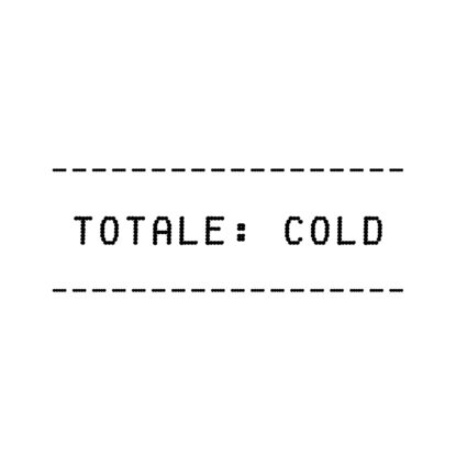 TOTALE COLD (Cover Label)